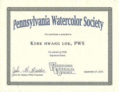 PWS-Certificate copy